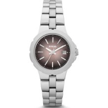 Fossil Sylvia Three Hand Stainless Steel Watch - AM4404
