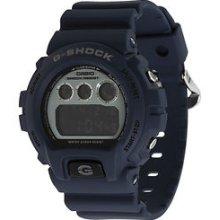 G-shock 6900 Vintage Metal Dw6900hm Blue Men's Wristwatch