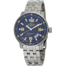 Gevril Men's 4012b Stadium Automatic Stainless Steel Bracelet Watch