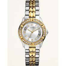 GUESS Sporty Mixed-Metal Watch