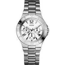 Guess U11645l1 Women's Bracelet Stainless Steel Band Silver Dial Watch