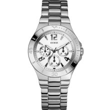 GUESS Watch, Women's Stainless Steel Bracelet 49mm U11645L1