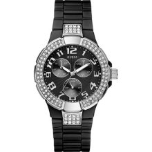 Guess Women's Black Prism Sports Watch Women's