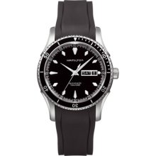 Hamilton H37565131 Watch Seaview Mens - Black Dial Stainless steel Self Winding Automatic Movement