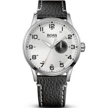 Hugo Boss 1512722 Watch HB2006 Mens - Silver Dial Stainless Steel Case Quartz Movement