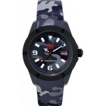 Ice-watch Ia.bk.xl.r Ice-army Black Camouflage Watch Rrp £165