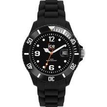 Ice-watch Sibkus09 Sili Unisex Black Silicone Watch
