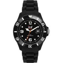 Ice-watch Unisex Watch Si.bk.bb.s.11 Sili Forever Big Collection Black
