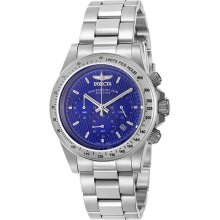 Invicta 9329 Mens Blue Dial Chrono Speedway Watch