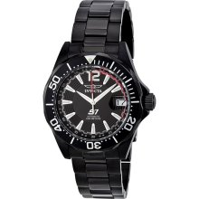 Invicta S1 Slinger Black PVD Steel Automatic Mens Watch 3546