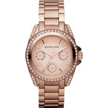 Ladies Michael Kors Mini Chronograph Watch Mk5613