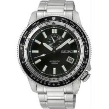 Men's Stainless Steel Superior Automatic Black Dial