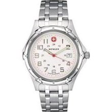 Men's Standard Issue XL by Wenger White Dial Stainless 73119