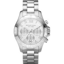 Michael Kors Chronograph Stainless Steel Ladies Watch MK5454