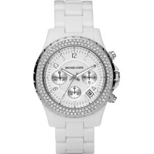 Michael Kors Madison Twin Row Crystal Chronograph Ladies Watch MK5300