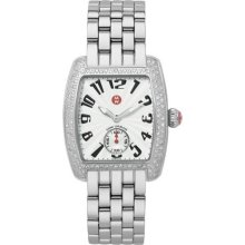 Michele Mini Urban Diamond Steel Ladies Watch MWW02A000124