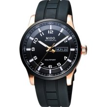 Mido M0054303705709 Watch Multifort Mens - Black Dial Stainless Steel Case Automatic Movement