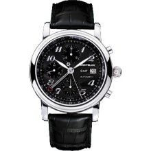 Montblanc Star Chronograph GMT Automatic Men's 102135w