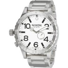 Nixon 51-30 Watch - Men's White, One Size