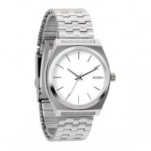 Nixon The Time Teller Watch - Steel/White