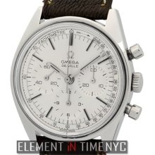 Omega De Ville Vintage Chronograph Stainless Steel 35mm Silver Dial 145.018