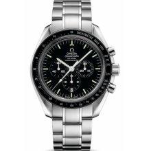 Omega Men's Speedmaster Black Dial Watch 311.30.44.50.01.001