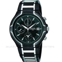 Pulsar By Seiko Gents Chronograph Alarm Watch Pf3 547 St Steel Boxed Pf3547x1