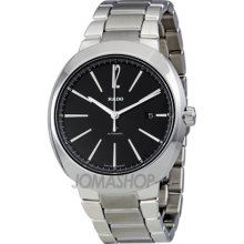 Rado R15329153 Watch D Star Mens - Black Dial Stainless Steel Case Automatic Movement