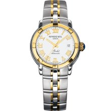 Raymond Weil Men's Parsifal White Dial Watch 2840-STG-00308
