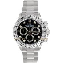 Rolex Daytona Mens Chronograph Automatic Watch 116509BKDO
