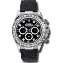 Rolex Watches Daytona White Gold Diamond Bezel 116589BRIL