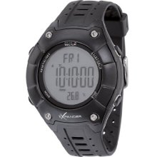 Sector Outdoor Sports Digital Watch With Grey Dial And Black Silicone Strap - R3251174315