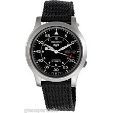 Seiko 5 Automatic Stainless Steel Mens Watch Skn809k
