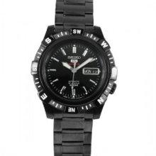 Seiko 5 Black Dial Automatic Sports Watch SRP141J1 SRP141J SRP141