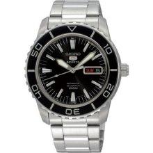 Seiko 5 Sports Snzh55j1 Automatic Black Dial Silver Watch Japan Model (snzh55k1)