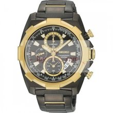 Seiko SNDD52P1 Lord Gents Chronograph Black Watch