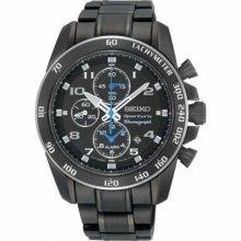 Seiko Sportura Alarm Chronograph Mens Watch