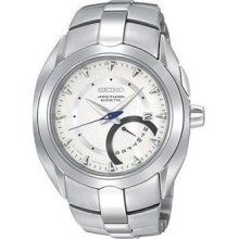 Seiko SRN015 Arctura Silver Tone Dial Stainless Steel Men's Watch
