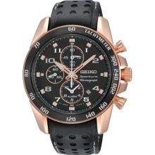Seiko watch - SNAE80 Sportura Alarm Chrono SNAE80 Mens