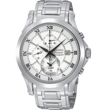SNAD25P1 SNAD25 Seiko Premier Gents Chronograph Watch