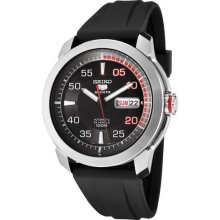 Snzh69j1 Seiko 5 Stainless Steel Sports Mens Day And Date Automatic Watch
