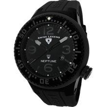 Swiss Legend Neptune 21818p-pht-01 Gents Steel Bracelet Rrp £270 Date Watch
