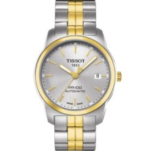 Tissot Men Automatic Swiss Made 'pr 100' Sapphire Two-tone Steel T0494072203100