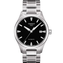 Tissot Men's T-Classic Black Dial Watch T060.407.11.051.00