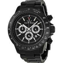 Toy Watch Fluo Oversized Chronograph Black Plasteramic Unisex Watch Fl49bkwh