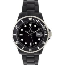 Toy Watch Plasteramic Black $295 With Warranty U-32001