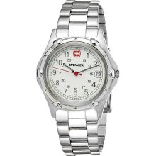 Wenger Standard Issue Mid Size Stainless Steel Men's Swiss Watch 70109
