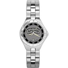 Womens San Antonio Spurs Watch - Stainless Steel Pro II Sport