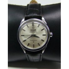 60's Omega Constellation Silver Dial Ss Auto Cal:354 Man's