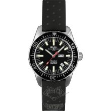 Ball Engineer Master II Skindiver 40.5 mm Watch - Black Dial, Black Rubber Strap DM2108A-P-BK Sale Authentic Tritium Ceramic